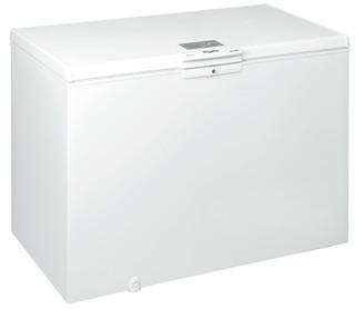 Fritstående Whirlpool-kummefryser: hvid farve - W 390 FO
