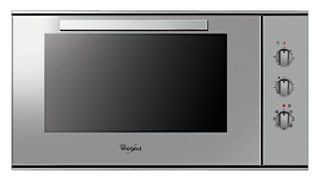 Whirlpool built in electric oven: inox color - AKG 619 IX
