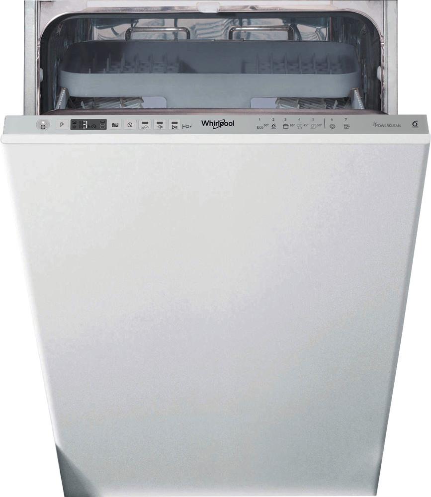 Whirlpool Съдомиялна машина Вграден WSIO 3T223 PCE X Изцяло вграден E Frontal