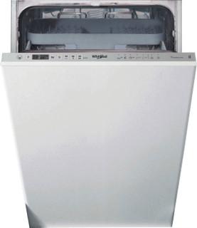 Whirlpool vollintegrierte Geschirrspüler: Farbe Edelstahl., Slimline. - WSIO 3T223 PCE X