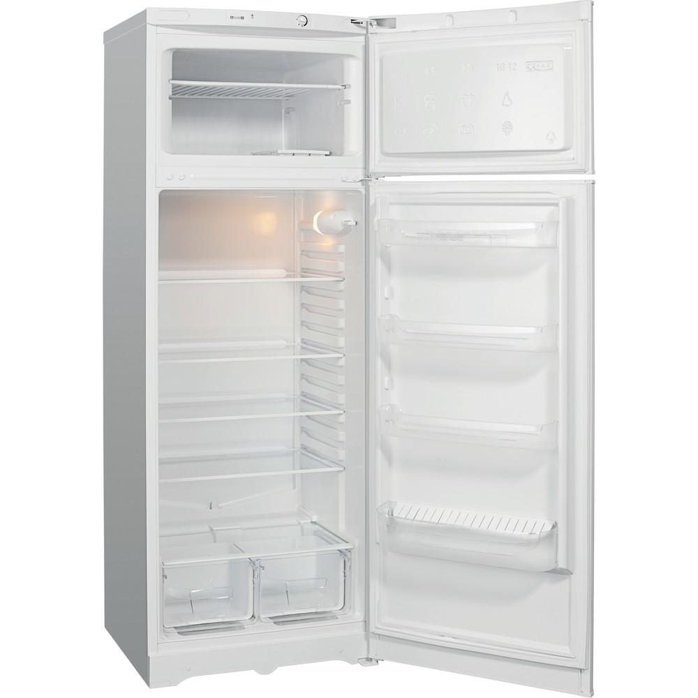 Indesit Холодильник с морозильной камерой Отдельностоящий RTM 016 Белый 2 doors Perspective open