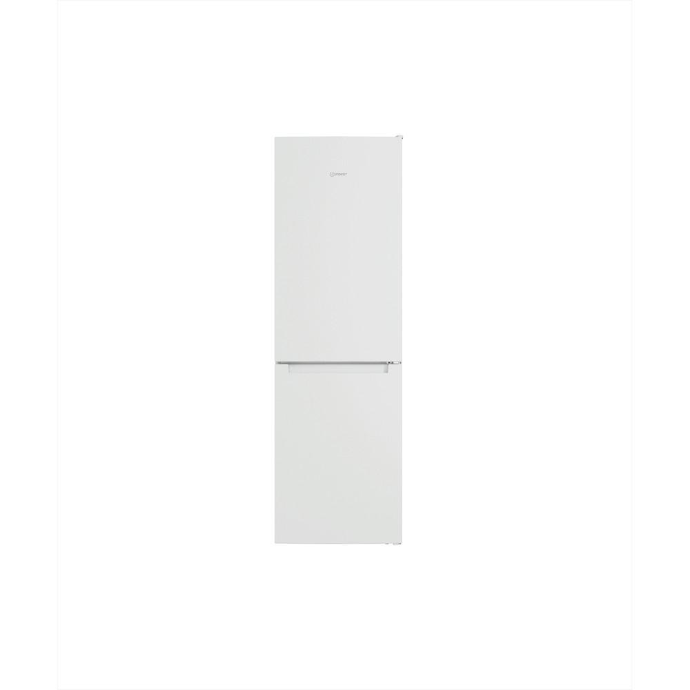 Indesit Køleskab/fryser kombination Fritstående INFC8 TI21W Hvid 2 doors Frontal