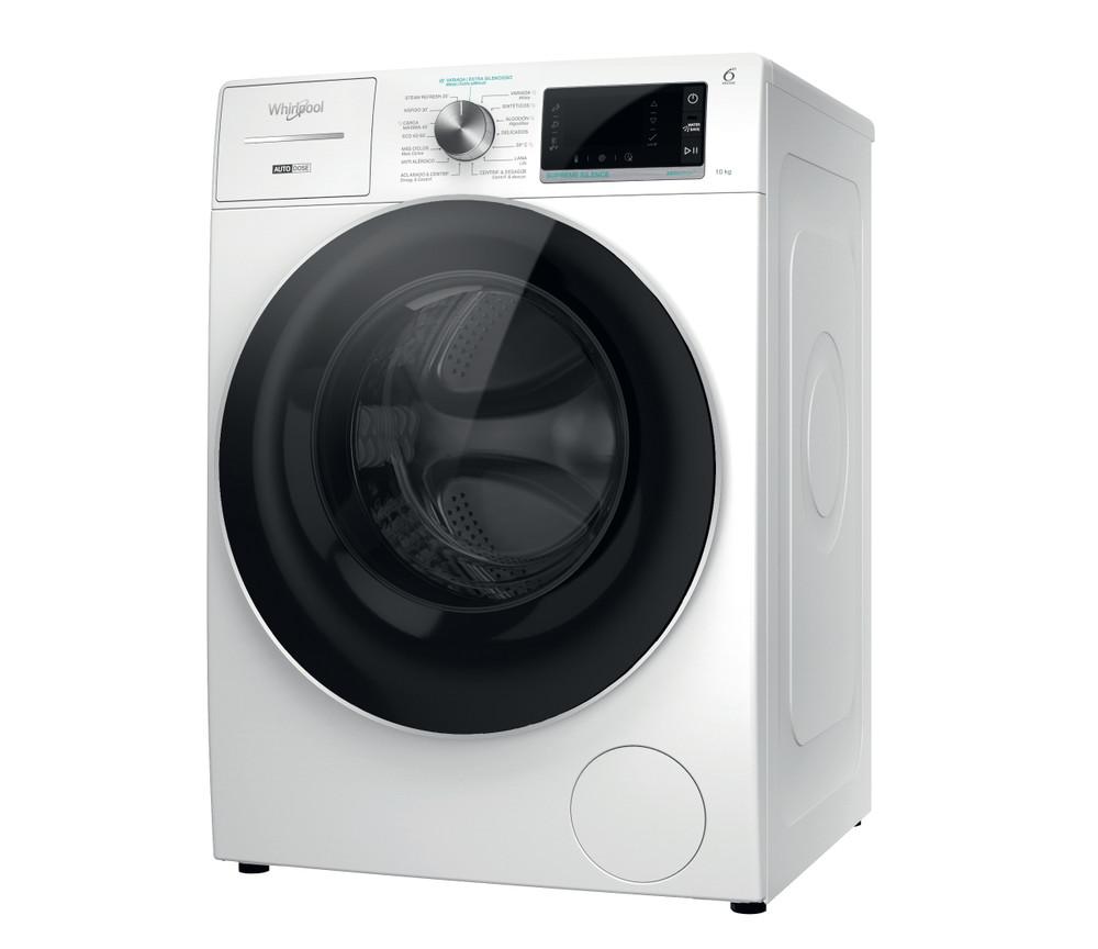 Whirlpool Máquina de lavar roupa Independente com possibilidade de integrar W8 W046WR SPT Branco Carga Frontal A Perspective