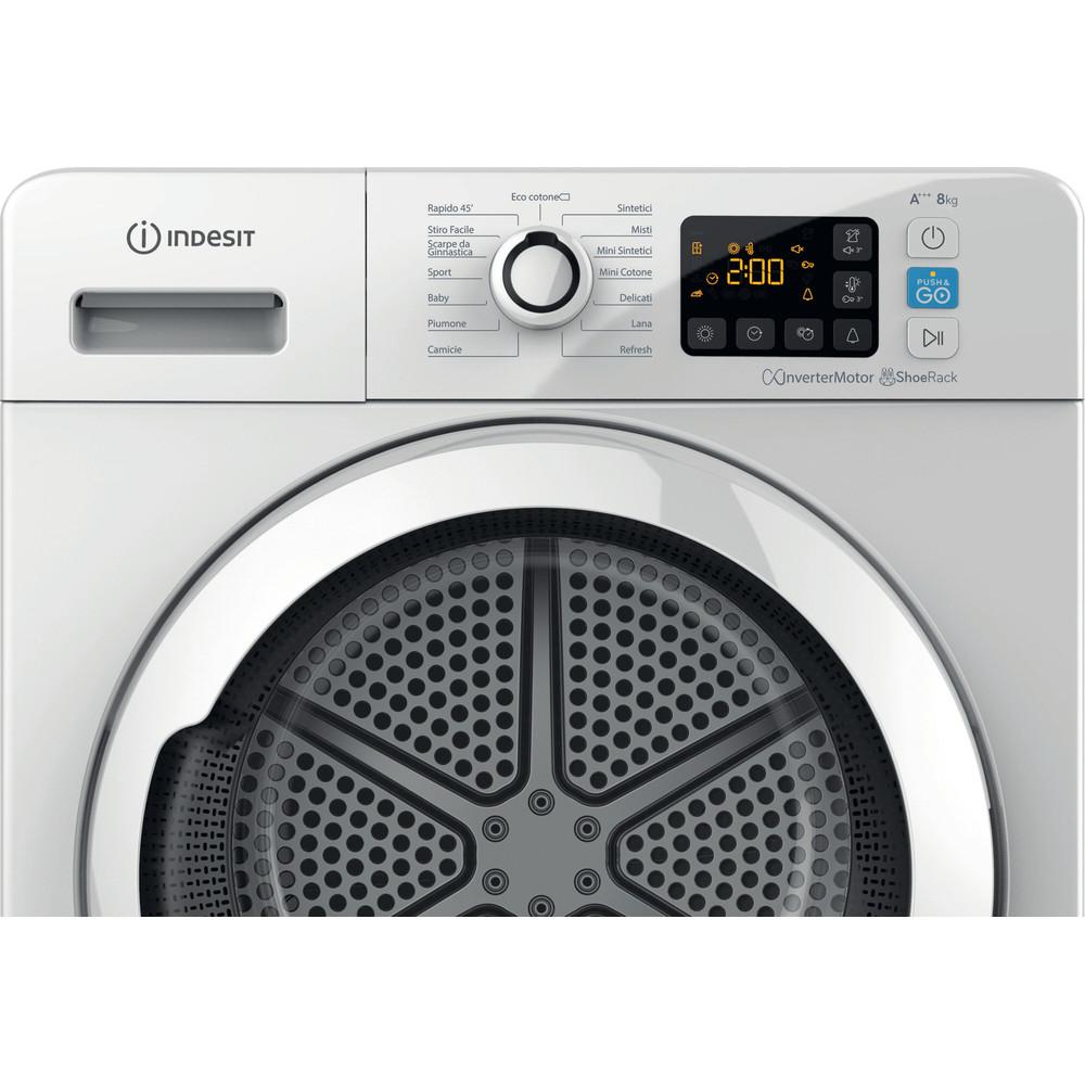 Indesit Asciugabiancheria YT M11 83K RX IT Bianco Control panel