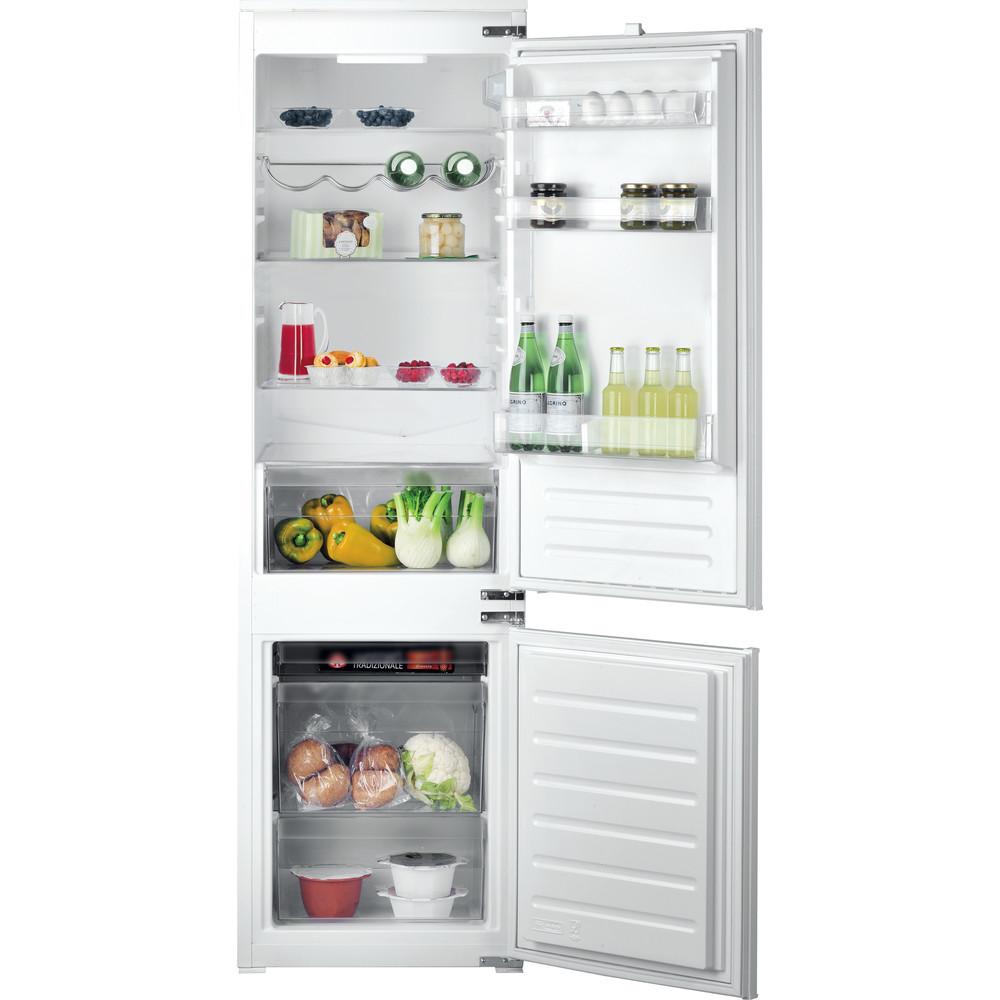 Hotpoint_Ariston Комбинированные холодильники Встраиваемая BCB 7525 AA (RU) Сталь 2 doors Frontal open