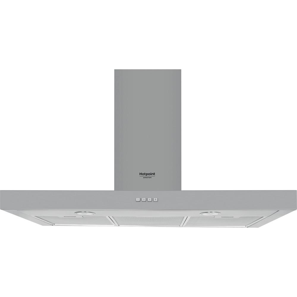 Hotpoint_Ariston Cappa Da incasso HHBS 9.4F LM X Inox Montaggio a parete Meccanico Frontal