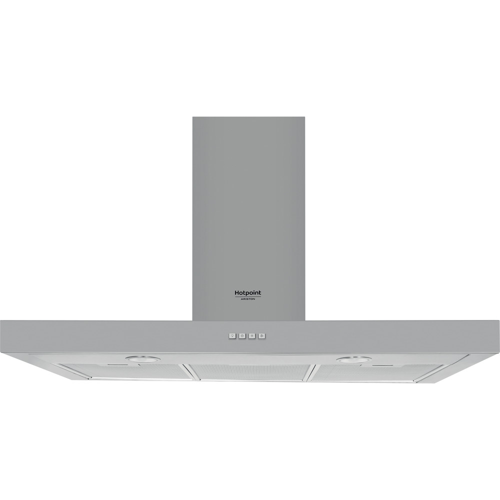 Hotpoint_Ariston Exaustor Encastre HHBS 9.4F LM X Inox Wall-mounted Mecânico Frontal