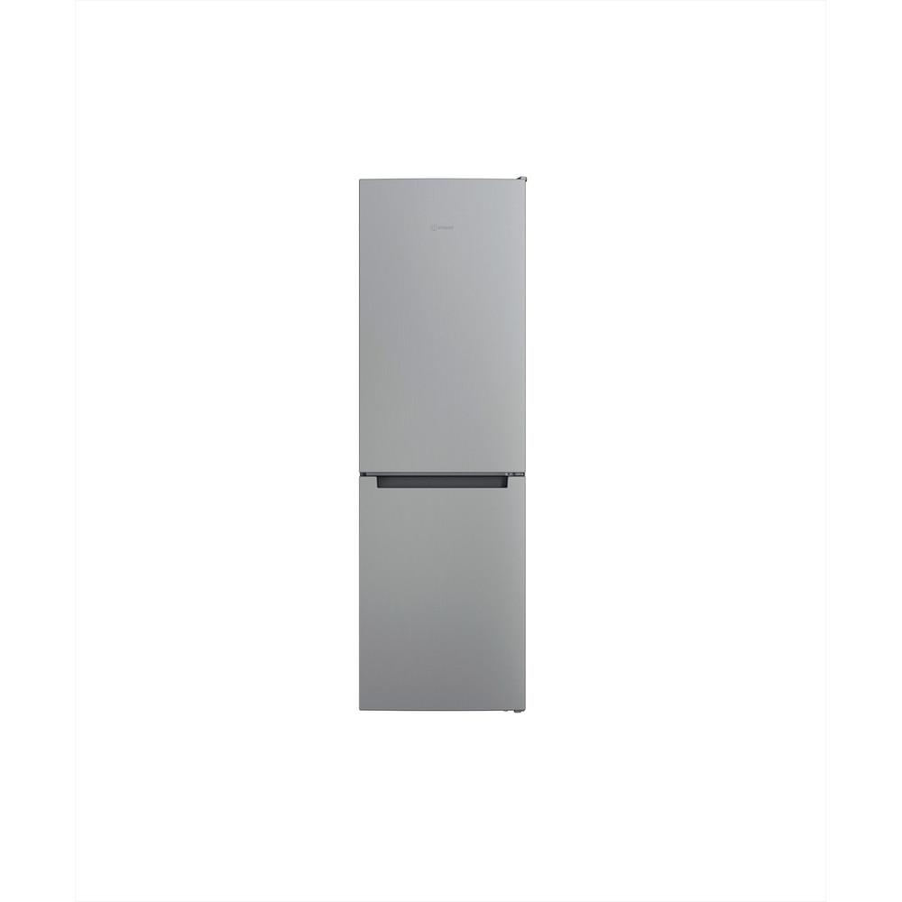 Indesit Kombinerat kylskåp/frys Fristående INFC8 TI21X Inox 2 doors Frontal