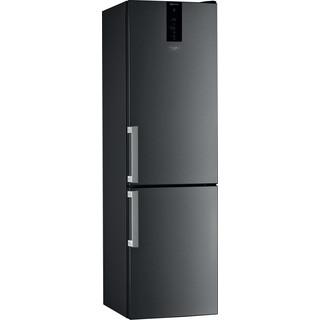 Whirlpool Συνδυασμός ψυγείου/καταψύκτη Ελεύθερο W9 931D KS H Μαύρο / Inox 2 doors Perspective