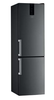 Свободностоящ комбиниран хладилник с фризер Whirlpool - W9 931D KS H