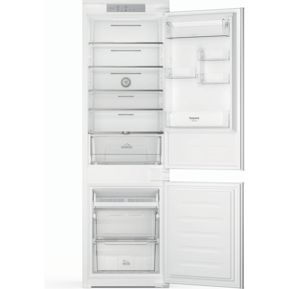 Hotpoint_Ariston Combinazione Frigorifero/Congelatore Da incasso HAC18 T532 Bianco 2 porte Frontal open