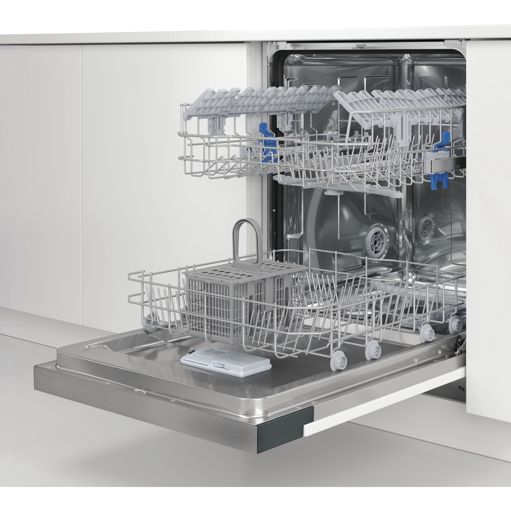 Indesit Lave-vaisselle Encastrable DBE 2B19 A X Int'grable F Lifestyle perspective open