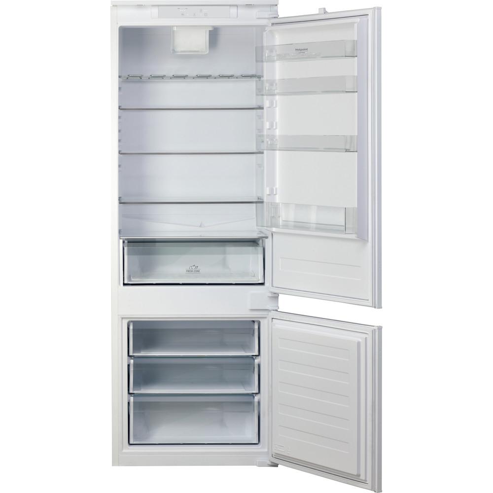 Hotpoint_Ariston Combinazione Frigorifero/Congelatore Da incasso BCB 4010 E Bianco 2 porte Frontal open