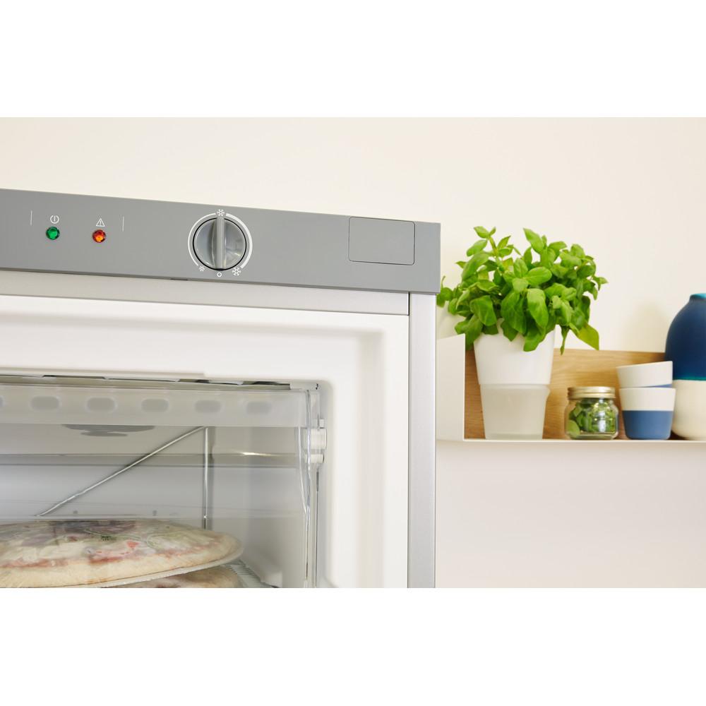 Indsit Congelator Independent UI6 1 S.1 Silver Lifestyle control panel