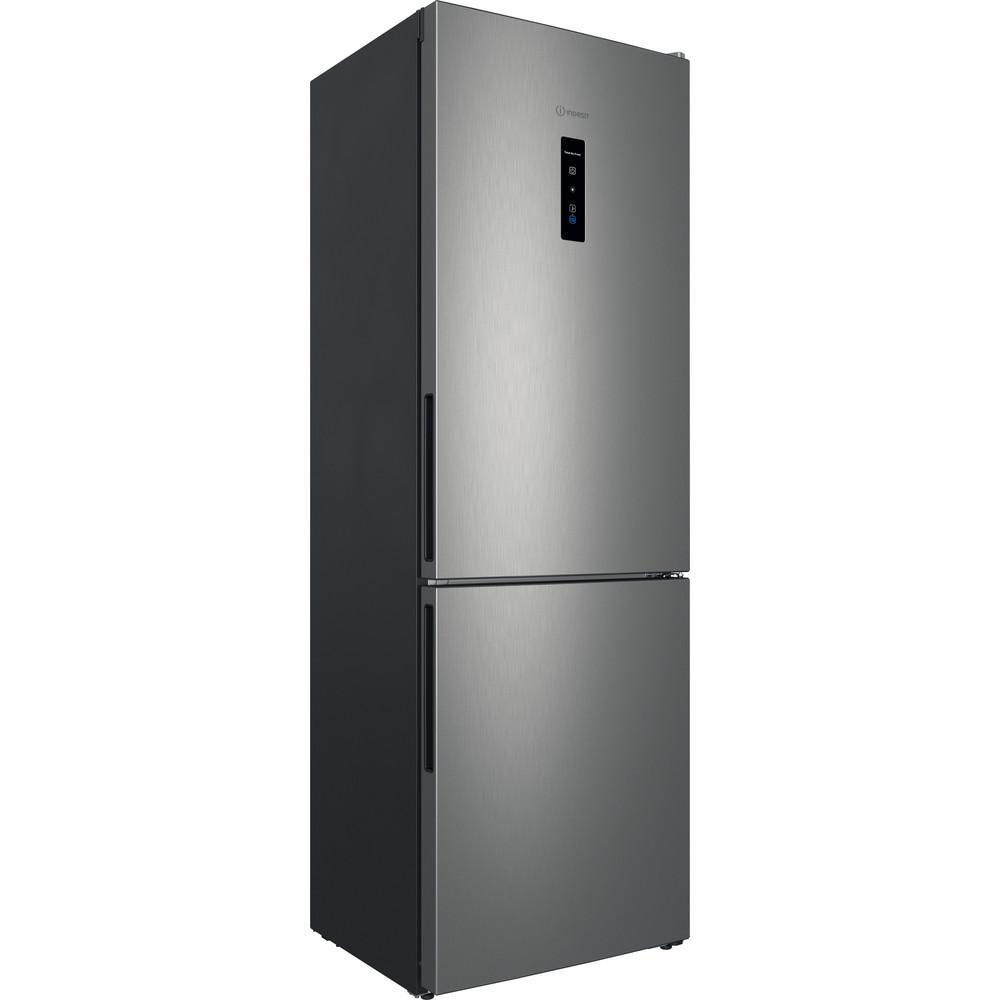 Indesit Холодильник с морозильной камерой Отдельностоящий ITR 5180 X Inox 2 doors Perspective