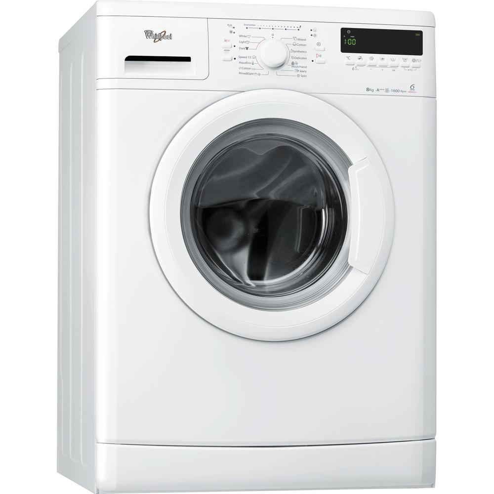 Whirlpool frontmatad tvättmaskin: 8 kg - AWO/D 8600