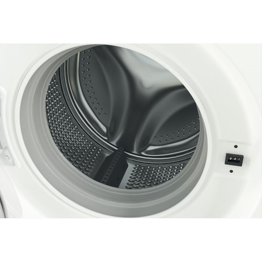 Indesit Waschmaschine Freistehend MTWE 61483E W DE Weiß Frontlader D Drum