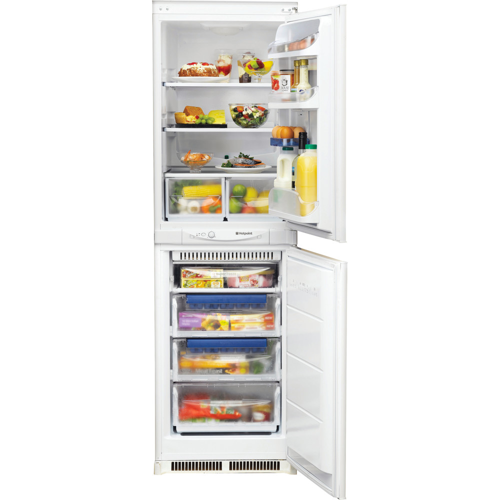 Hotpoint Fridge Freezer Built-in HM 325 FF 0 White 2 doors Frontal open