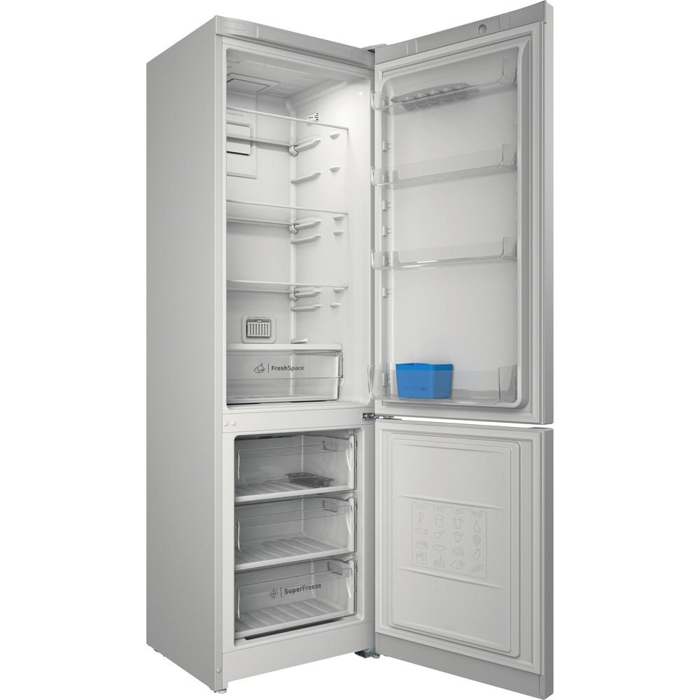 Indesit Холодильник с морозильной камерой Отдельно стоящий ITI 5201 W UA Белый 2 doors Perspective open