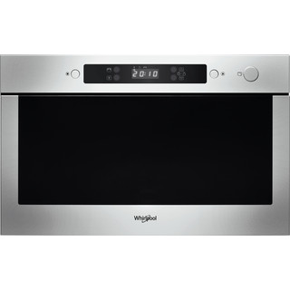 Whirlpool Microwave Built-in AMW 423/IX Stainless Steel Electronic 22 MW only 750 Frontal