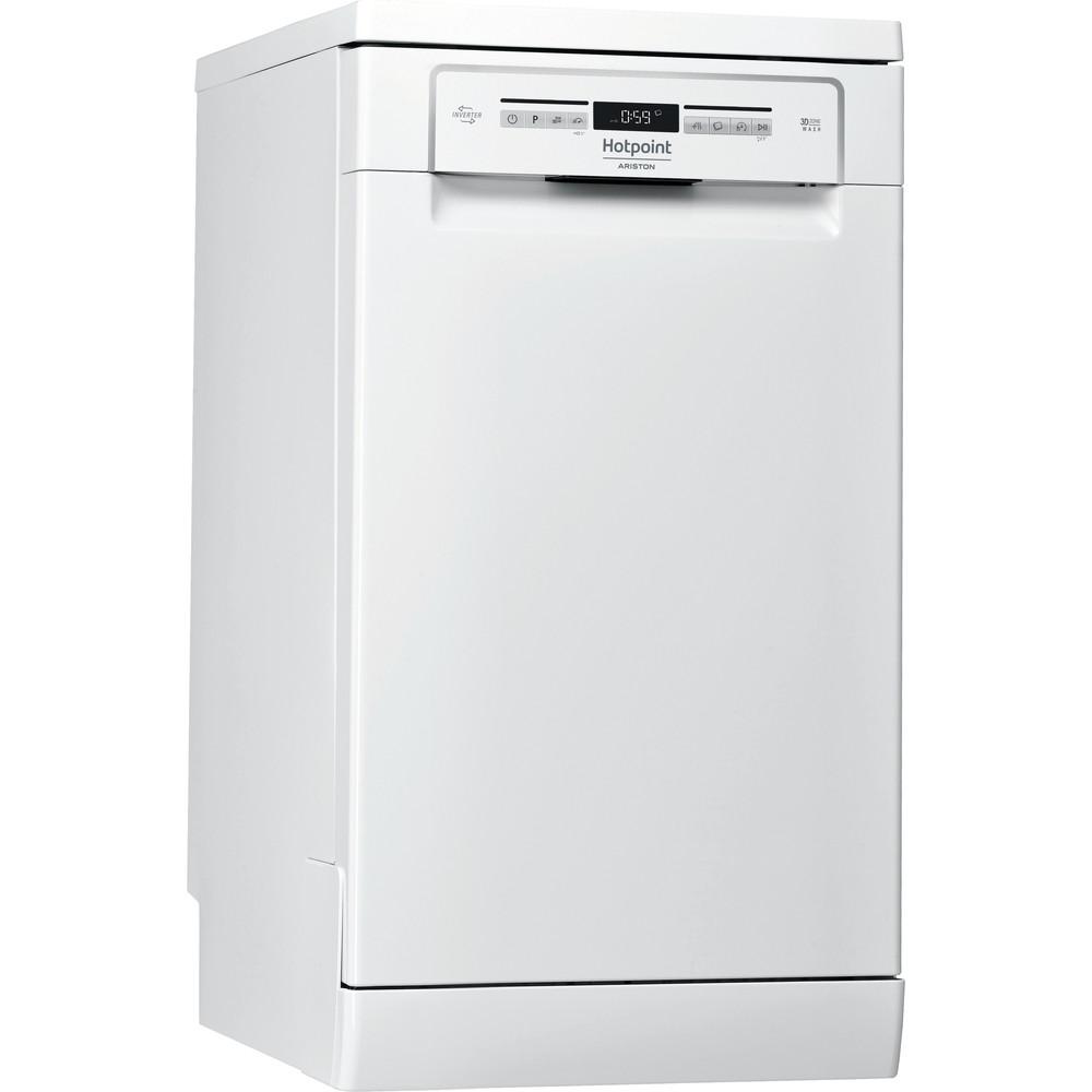 Hotpoint_Ariston Посудомоечная машина Отдельностоящий HSFO 3T223 W Отдельностоящий A Perspective