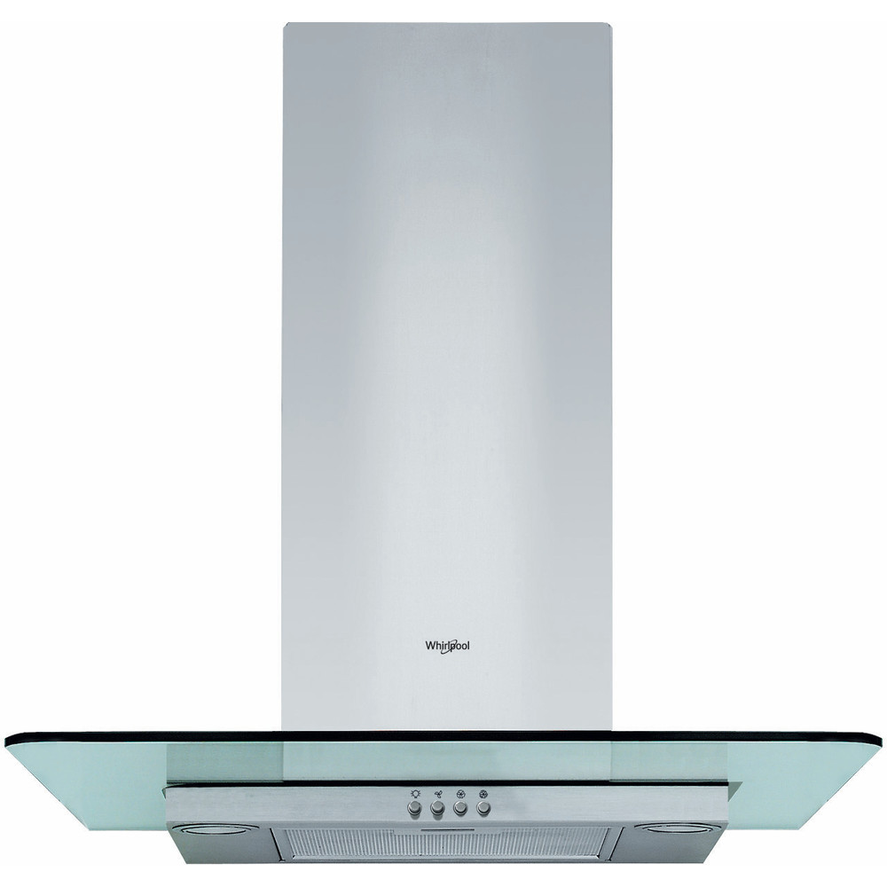Whirlpool WHFG 64 F LM X wall mounted cooker hood - Silver