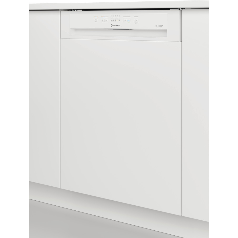 Indesit Dishwasher Built-in DBE 2B19 UK Half-integrated F Lifestyle perspective