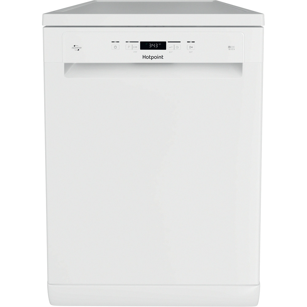 Hotpoint Dishwasher Free-standing HFC 3C26 W C UK Free-standing A++ Frontal