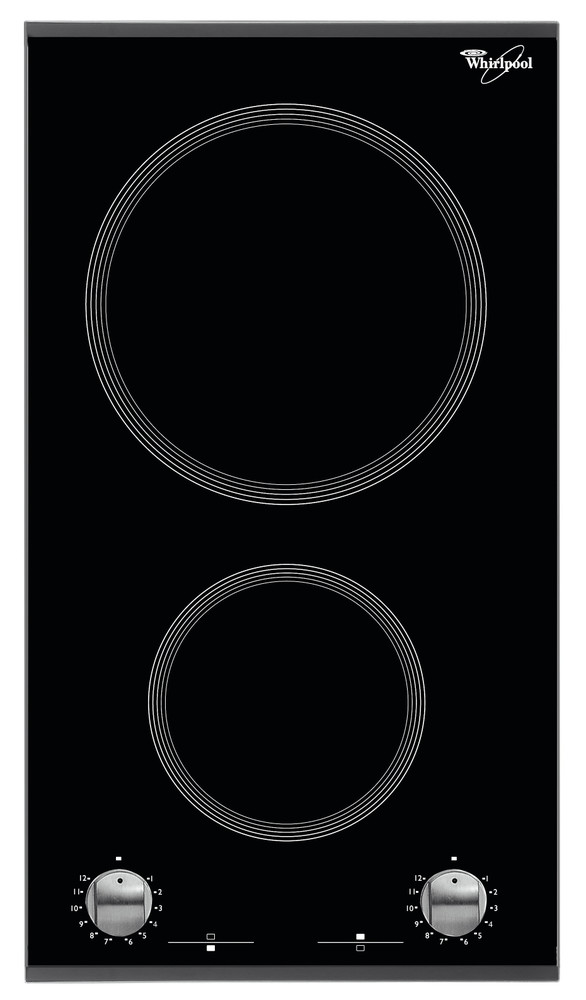 Whirlpool Liesitaso AKT 360/IX Musta Radiant vitroceramic Frontal
