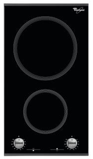 Whirlpool-kogeplade: 2 elringe - AKT 360/IX