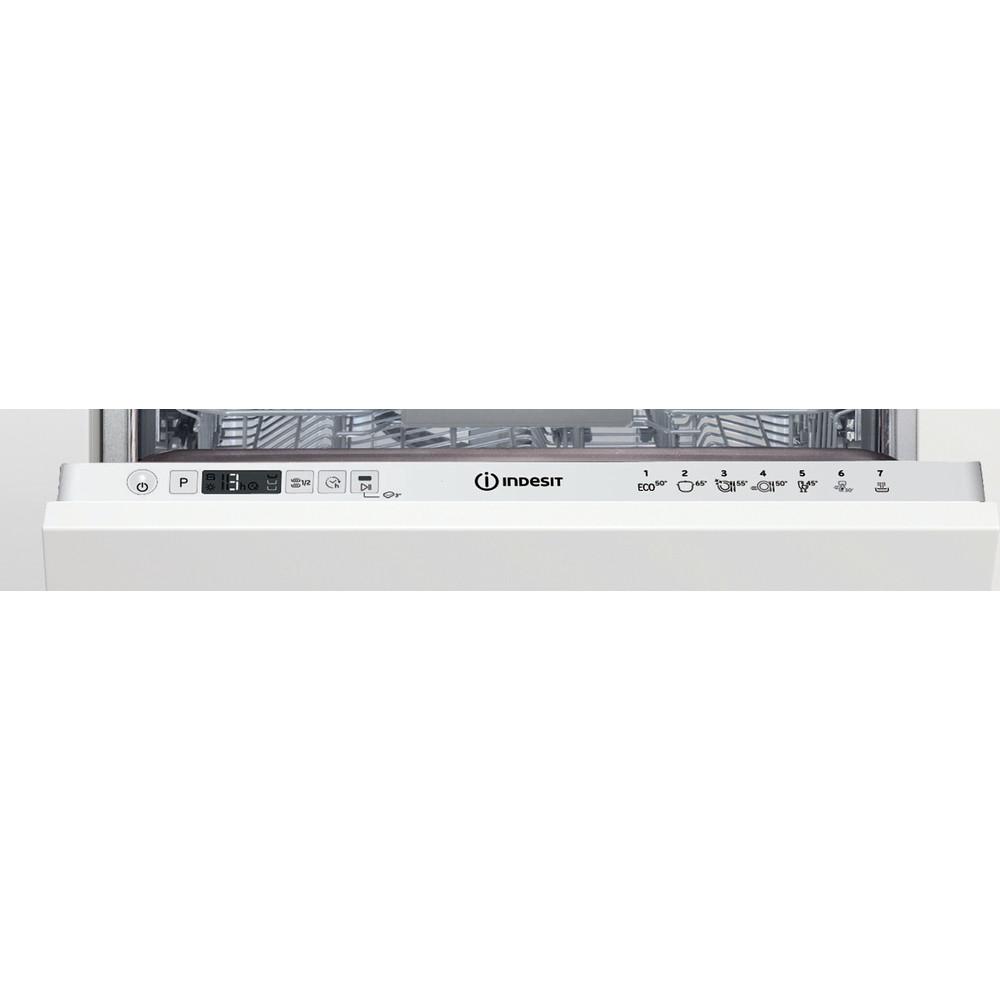 Indesit Lave-vaisselle Encastrable DSIC 3M19 Tout intégrable F Control panel