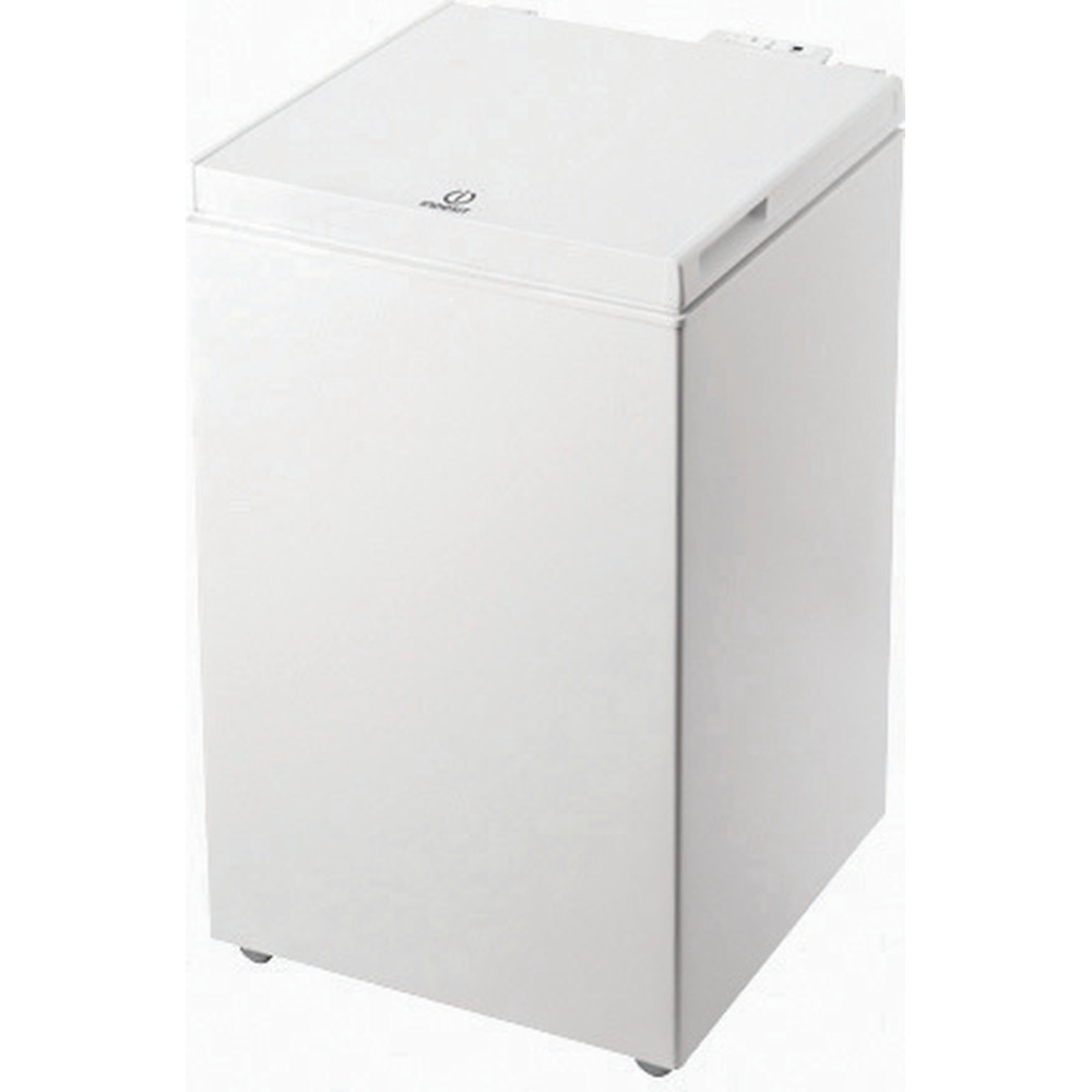 Indesit Frys Fristående OS 1A 100 2 White Perspective