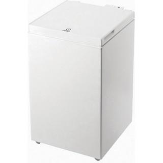 Indesit Congelatore A libera installazione OS 1A 100 2 Bianco Perspective