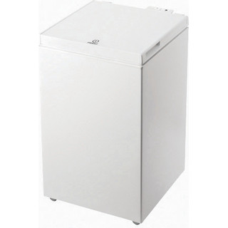 Indesit Freezer Free-standing OS 1A 100 2 UK 2 White Perspective