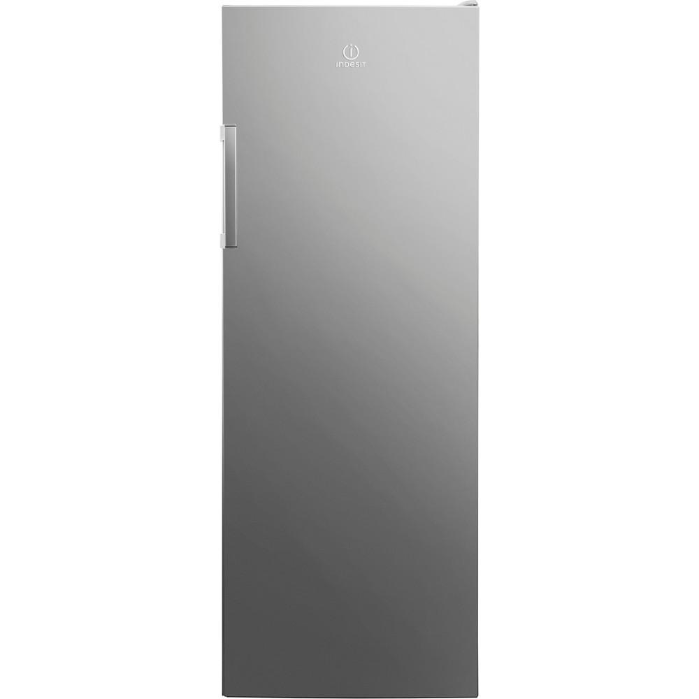 Indesit Réfrigérateur Pose-libre SI6 1 S Argent Frontal