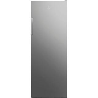 Indesit brīvi stāvošais ledusskapis: sudraba krāsa