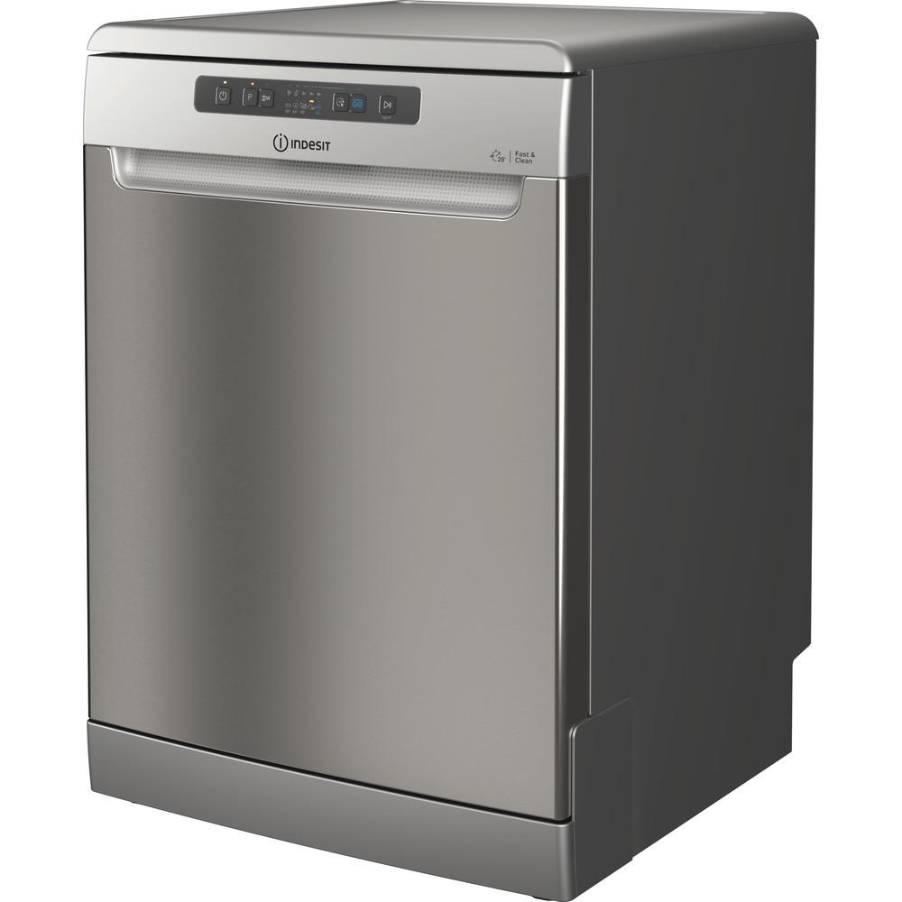 Indesit Посудомоечная машина Отдельностоящий DFC 2C24 A X Отдельностоящий A Perspective