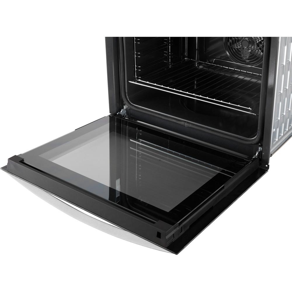 Indesit Oven Ingebouwd IFW 3844 P IX Elektrisch A+ Perspective open