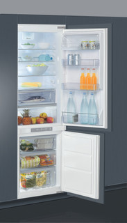 Kalusteisiin sijoitettava Whirlpool jääkaappipakastin: huurtumaton - ART 883/A+/NF