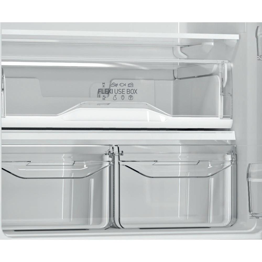 Indesit Холодильник с морозильной камерой Отдельностоящий ITF 120 X Inox 2 doors Drawer
