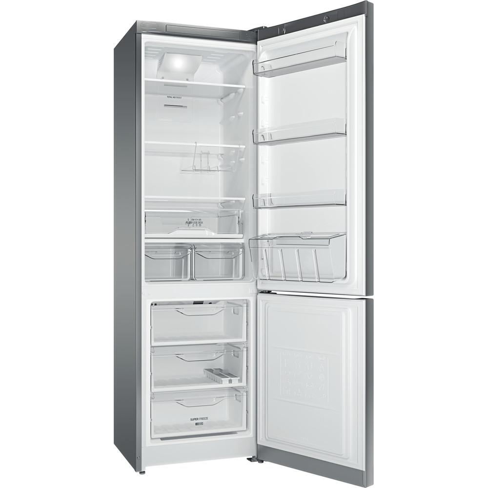 Indesit Холодильник с морозильной камерой Отдельностоящий DF 5201 X RM Inox 2 doors Perspective open