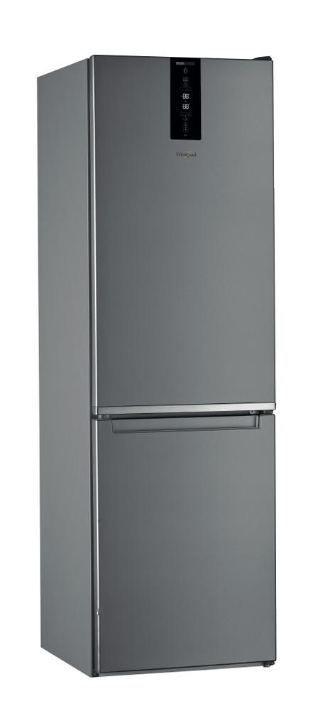 """Whirlpool Šaldytuvo / šaldiklio kombinacija Laisvai pastatomas W9 821D OX 2 """"Optic Inox"""" 2 doors Perspective"""