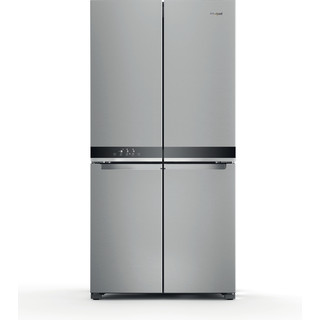 Whirlpool Side-by-Side Independente com possibilidade de integrar WQ9 M2L Inox Frontal
