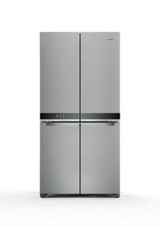 Whirlpool side-by-side amerikansk køleskab: inox-farve - WQ9 M2L