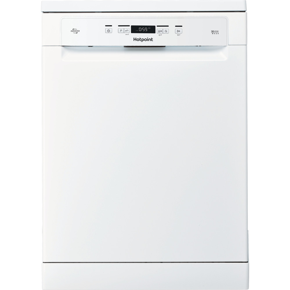 Hotpoint Dishwasher Free-standing HFO 3T222 WG UK Free-standing A Frontal