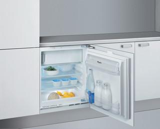 Kalusteisiin sijoitettava Whirlpool jääkaappi: Valkoinen - ARG 913 1