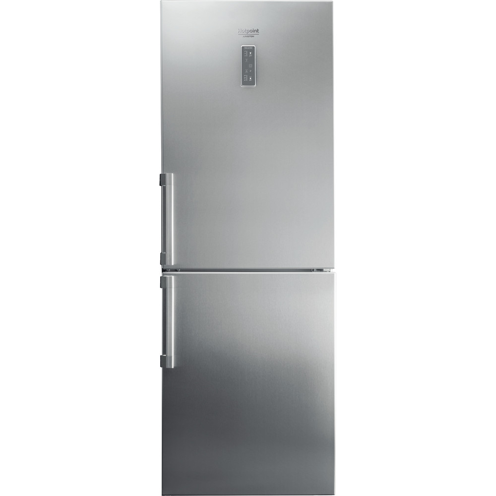 Hotpoint_Ariston Комбиниран хладилник с фризер Свободностоящ HA70BE 72 X Оптика Inox 2 врати Frontal