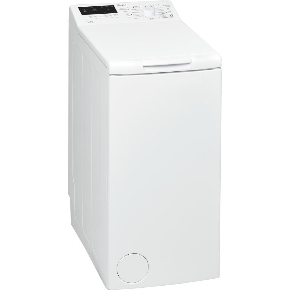 Whirlpool toppmatad tvättmaskin: 6.5 kg - AWE 468F