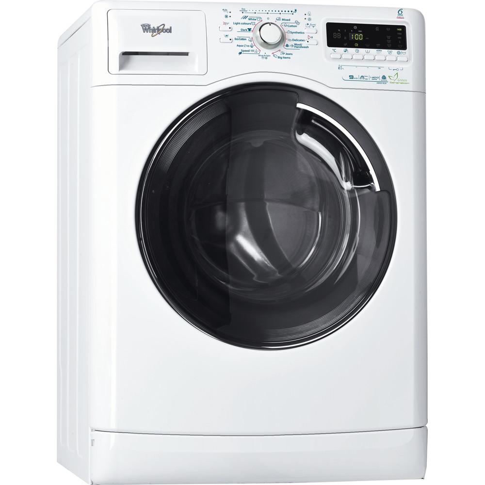 Whirlpool frontmatad tvättmaskin: 9 kg - AWOE 9524