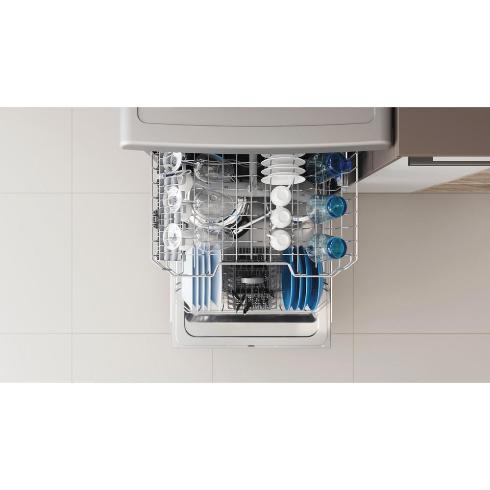 Indesit Dishwasher Free-standing DFE 1B19 X UK Free-standing F Lifestyle detail